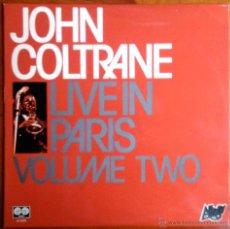 Discos de vinilo: JOHN COLTRANE - LIVE IN PARIS VOL. 2 - LP ESPAÑOL. Lote 41766828