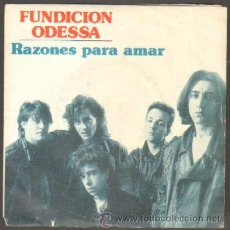 Discos de vinilo: FUNDICIÓN ODESSA. RAZONES PARA AMAR,AGUAS QUE VAN...RF-7100. Lote 41773678