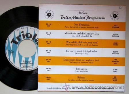 Discos de vinilo: ROBERTINO - O SOLE MIO - EDICIÓN SUIZA - Foto 2 - 41779566
