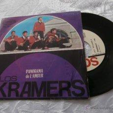 Discos de vinilo: LOS KRAMER´S 7´SG PANORAMA / DE L´AMOUR (1966) INSTRUMENTAL - BUENA CONDICION-SELLO PROMOCION. Lote 41782575