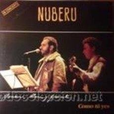 Discos de vinilo: NUBERU COMO TÚ YES (FONOASTUR 1991). Lote 61056315