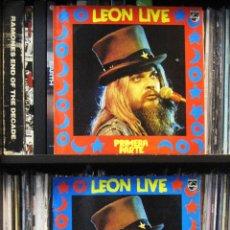 Discos de vinilo: LEON RUSELL - LEON LIVE - 3 LP - PHILLIPS 3 LP 1974 EDICIÓN ESPAÑOLA.. Lote 41793118