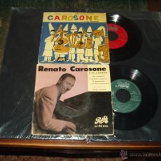 Discos de vinilo: LOTE 2 EP'S RENATO CAROSONE ORIGINAL ESPAÑOL . Lote 41794998