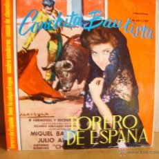 Discos de vinilo: CONCHITA BAUTISTA ---- TORERO DE ESPAÑA . Lote 41798765