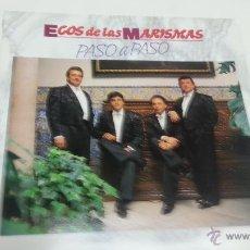 Discos de vinilo: ECOS DE LAS MARISMAS -PASO A PASO-LP-FONOMUSIC-SPAIN-AÑO 1991- N. Lote 41801812