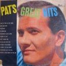 Discos de vinilo: LP - PAT BOONE - PAT'S GREAT HITS (USA, DOT RECORDS SIN FECHA). Lote 41806636