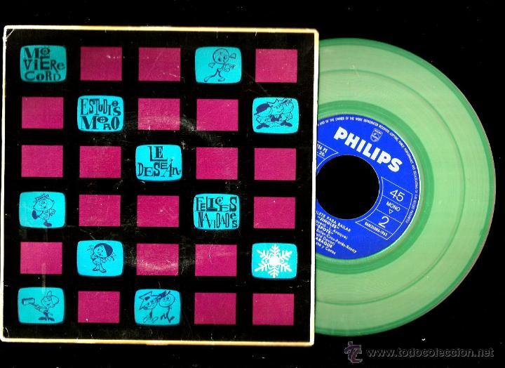 Discos de vinilo: EP LUIS ARAQUE : TELE-RITMOS 1 Y 2 + JINGLES + SPOTS - Foto 2 - 41807633