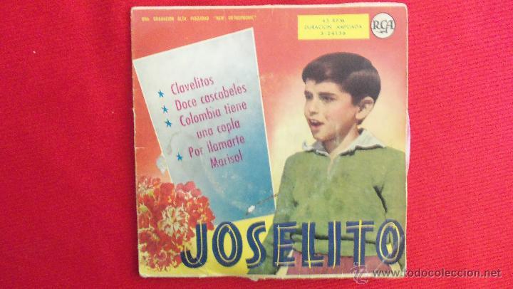 JOSELITO (Música - Discos de Vinilo - EPs - Flamenco, Canción española y Cuplé)