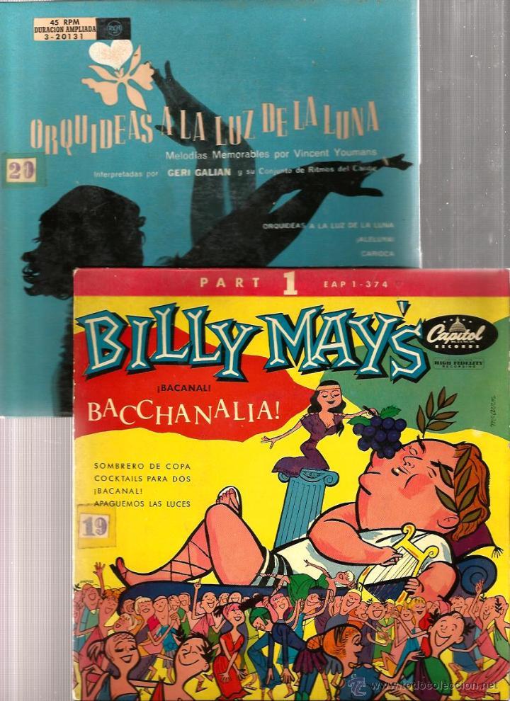 Discos de vinilo: BILLY MAY, EMIL COLEMAN, PAUL WESTON, BOSTON POPS, AL STEFANO, R. INGLEZ, BERNARD HILDA, POURCEL - Foto 2 - 41812323