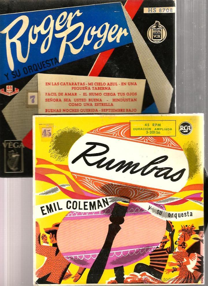 Discos de vinilo: BILLY MAY, EMIL COLEMAN, PAUL WESTON, BOSTON POPS, AL STEFANO, R. INGLEZ, BERNARD HILDA, POURCEL - Foto 3 - 41812323