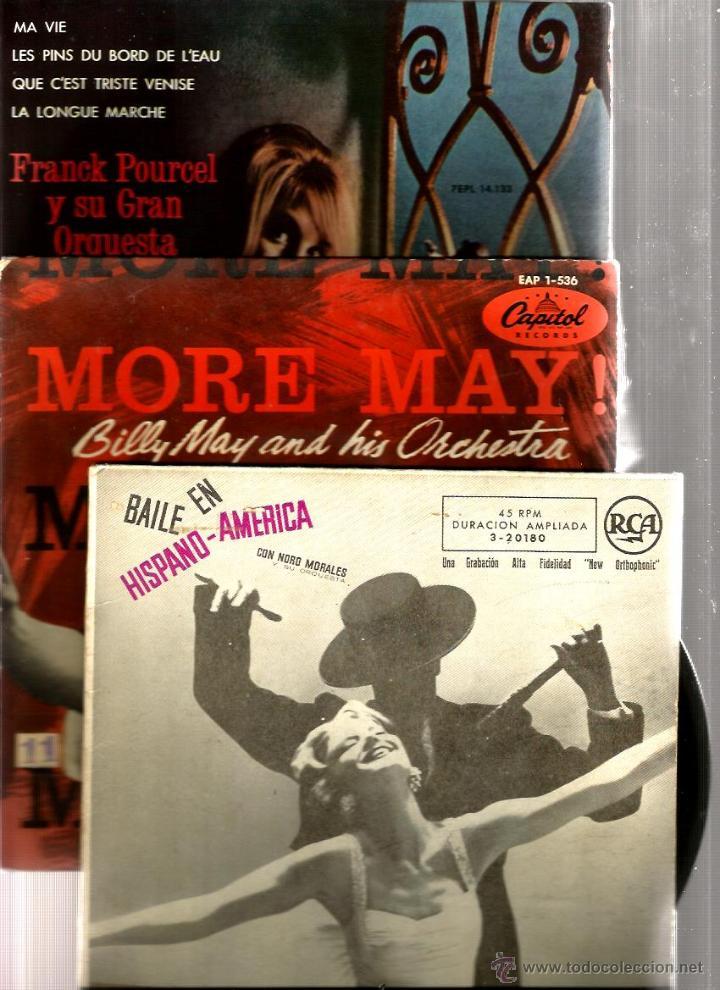 Discos de vinilo: BILLY MAY, EMIL COLEMAN, PAUL WESTON, BOSTON POPS, AL STEFANO, R. INGLEZ, BERNARD HILDA, POURCEL - Foto 7 - 41812323