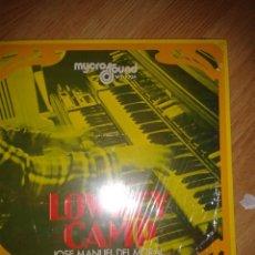 Discos de vinilo: LOWREY CAMP - JOSE MANUEL DEL MORAL -ORGANO. Lote 41817562