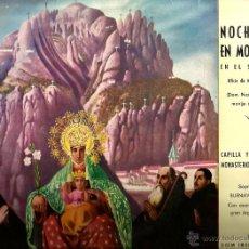 Discos de vinilo: LP CAPILLA Y ESCOLANIA DEL MONASTERIO DE MONTSERRAT : NOCHEBUENA EN MONTSERRAT . Lote 41843522