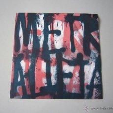 Discos de vinilo: LP - METRALLETA - 2011 - GRINDCORE. Lote 41843726