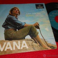 Discos de vinilo: IVANA JUDY CON DISFRAZ / MUNDO 7 SINGLE 1967 COLUMBIA PROMO CHICA YEYE . Lote 41848205