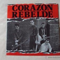 Discos de vinilo: CORAZON REBELDE, ADONDE VAN + BARCELONA + BARÇA (DRO 1983) MAXI SINGLE PROMOCIONAL. Lote 41866964