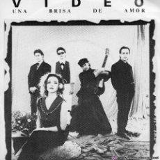 Discos de vinilo: VIDEO *UNA BRISA DE AMOR* * CUENTOS EN LA MADRUGADA*. Lote 87445635