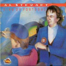 Discos de vinilo: AL STEWART *KING OF PORTUGAL* *HELLEN AND CASSANDRA*. Lote 41870346