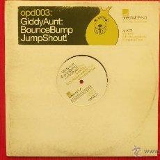 Discos de vinilo: GIDDYAUNT : BOUNCEBUMP JUMPSHOUT. Lote 41873515