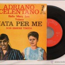 Discos de vinilo: SINGLE / EP - ADRIANO CELENTANO - NATA PER ME - EDITA ZAFIRO - 1962 - ESPAÑA. Lote 41874093