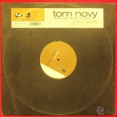 Discos de vinilo: TOM NOVY - FEATURING MICHAEL MARSHALL. Lote 41874951