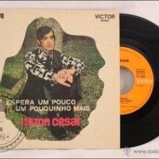 Discos de vinilo: SINGLE/EP - 45 RPM - NILTON CÉSAR - ESPERA UM POUCO... - EDITA RCA/VICTOR MONO - PORTUGAL - RAREZA. Lote 41874956
