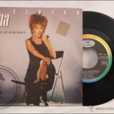 Discos de vinilo: SINGLE - 45 RPM - TINA TURNER - WHAT'S LOVE GOT TO DO WITH IT - CAPITOL RECORDS/EMI - 1984 - ESPAÑA . Lote 41875237