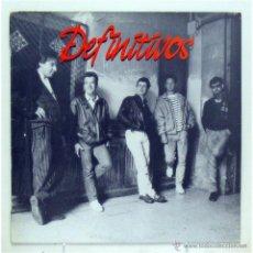 Discos de vinilo: DEFINITIVOS - 'DEFINITIVOS' (LP VINILO / VINYL LP). Lote 41876170