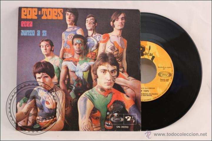 SINGLE VINILO - 45 RPM - LOS POP TOPS - PEPA - BARCLAY/SONO PLAY - 1968 - ESPAÑA (Música - Discos - Singles Vinilo - Grupos Españoles 50 y 60)