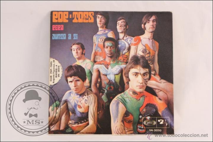 Discos de vinilo: Single Vinilo - 45 RPM - Los Pop Tops - Pepa - Barclay/Sono Play - 1968 - España - Foto 3 - 41881265