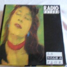 Discos de vinilo: RADIO FUTURA - LA NEGRA FLOR MAXI 1987. Lote 41888136