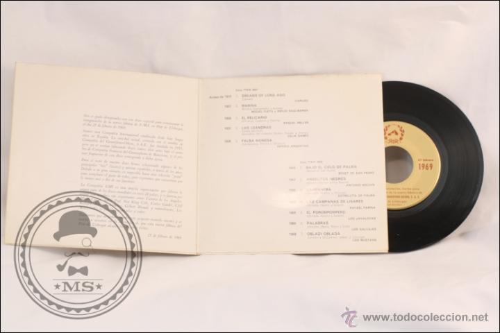 Discos de vinilo: Single/EP - Rareza - Disco Inauguración Fábrica de EMI en El Prat Llobregat. 1915-1969 - 1969 - Foto 2 - 41892748