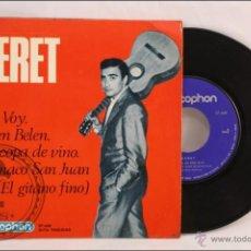 Discos de vinilo: SINGLE/EP VINILO - 45 RPM - PERET - VOY VOY - EDITA DISCOPHON - 1965 - ESPAÑA. Lote 41899989