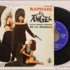 Discos de vinilo: SINGLE / EP VINILO - 45 RPM - RAPHAEL. BSO EL ÁNGEL - CORAZÓN, CORAZÓN - ED.HISPAVOX - 1969 - ESPAÑA. Lote 41901260