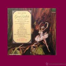Discos de vinil: WALT DISNEY GREAT BALLETS AND THEIR STORIES - SEALED USA 1968 L LP ALBUM CON LIBRETO CARPETA DOBLE. Lote 41927159