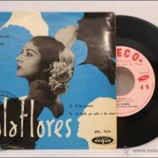 Discos de vinilo: SINGLE / EP VINILO - LOLA FLORES - MARÍA BONITA - EDITA DISQUES VOGUE / SEECO - FRANCIA. Lote 41931611