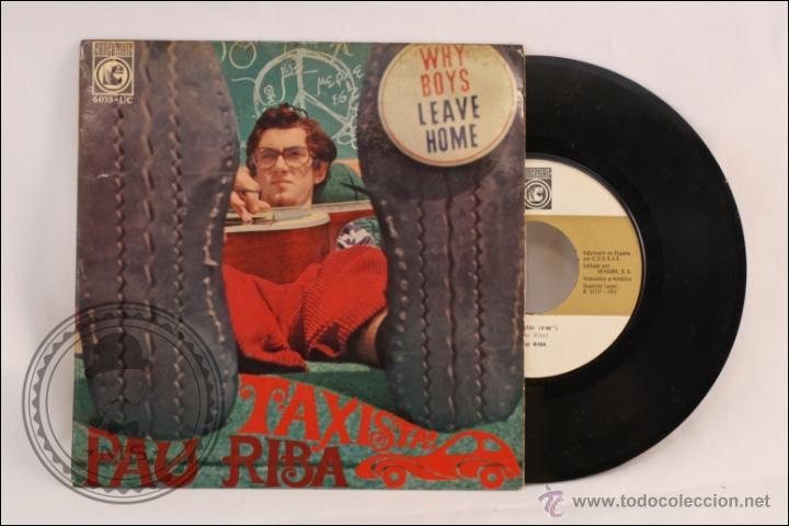 SINGLE / EP VINILO - 45 RPM - PAU RIBA - TAXISTA - EDITA CONCENTRIC - 1967 - ESPAÑA (Música - Discos de Vinilo - EPs - Solistas Españoles de los 70 a la actualidad)