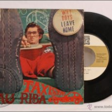 Discos de vinilo: SINGLE / EP VINILO - 45 RPM - PAU RIBA - TAXISTA - EDITA CONCENTRIC - 1967 - ESPAÑA. Lote 41933291