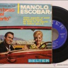 Discos de vinilo: SINGLE / EP VINILO - 45 RPM - MANOLO ESCOBAR - UN BESO EN EL PUERTO - EDITA BELTER - 1966 - ESPAÑA. Lote 41933722