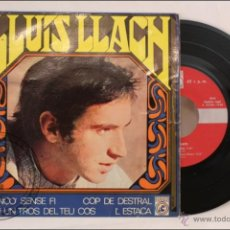Discos de vinilo: SINGLE / EP - 45 RPM - LLUÍS LLACH - COP DE DESTRAL - EDITA CONCENTRIC - 1968 - ESPAÑA - CATALÁN. Lote 41934257