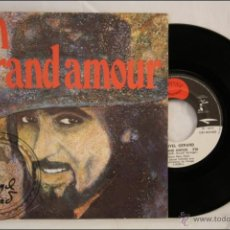Discos de vinilo: SINGLE VINILO - DANYEL GÉRARD - UN GRAND AMOUR - EDITA GYPSY PRODUCTION - 1975 - FRANCIA. Lote 41942639