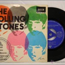 Discos de vinilo: SINGLE / EP VINILO - 45 RPM - THE ROLLING STONES - SATISFACTION - EDITA DECCA - 1965 - ESPAÑA. Lote 41950942