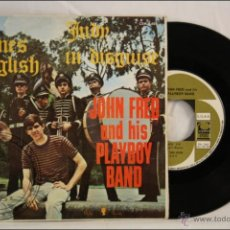 Discos de vinilo: SINGLE VINILO - 45 RPM - JOHN FRED AND HIS PLAYBOY BAND - JUDY IN DISGUISE - ED. CEM - 1968 - ESPAÑA. Lote 41960773
