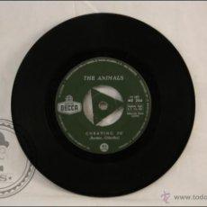 Single Vinilo - 45 RPM - The Animals - Don't Bring Me Down - Edita Decca - 1966 - España - E. Burdon