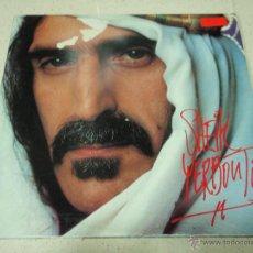 Discos de vinilo: FRANK ZAPPA ( SHEIK YERBOUTI ) DOBLE LP33 1979-HOLANDA CBS RECORDS. Lote 41989484
