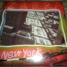 Discos de vinilo: FRANK ZAPPA - ZAPPA IN NEW YORK DOBLE LP - ORIGINAL U.S.A. - DISCREET RECORDS 1977 GATEFOLD SLEEVE -. Lote 41991997