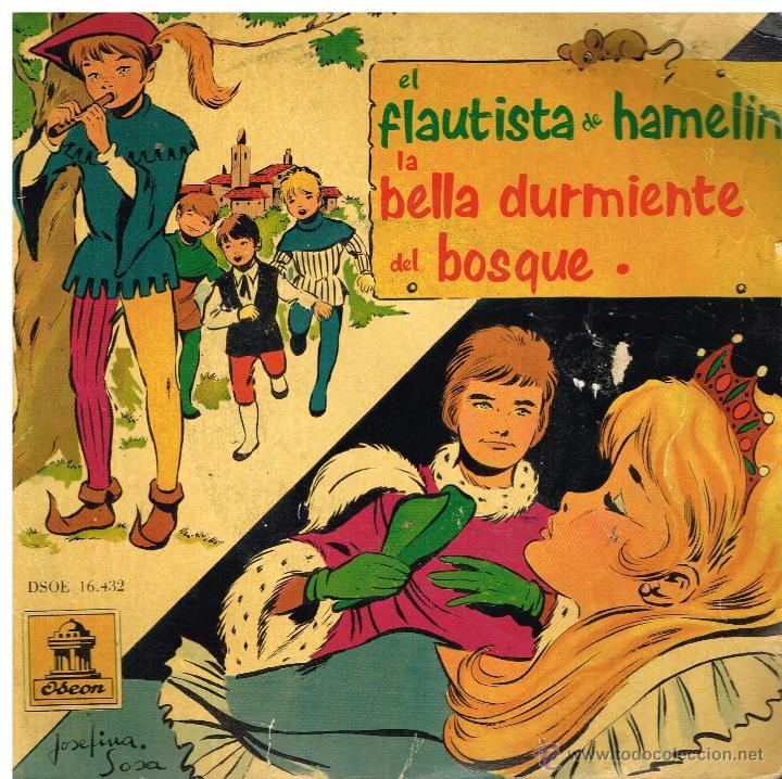 EL FLAUTISTA DE HAMELIN / LA BELLA DURMIENTE DEL BOSQUE - EP 1961 (Música - Discos de Vinilo - EPs - Música Infantil)