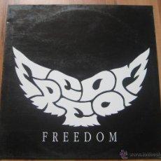 Discos de vinilo: FREEDOM LP SEX MUSEUM LOS ENEMIGOS HARD ROCK DEEP PURPLE LED ZEPPELIN. Lote 41996548