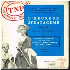 Discos de vinilo: L'HEUREUX STRATAGEME - JACQUES BERTHIER / CHRISTIANE MINAZZOLI, ETC - EP 1960?. Lote 42029172