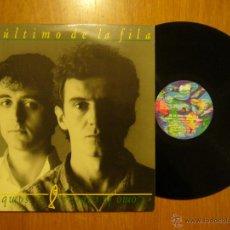 Discos de vinilo: EL ULTIMO DE LA FILA - COMO LA CABEZA AL SOMBRERO - LP. Lote 42032794